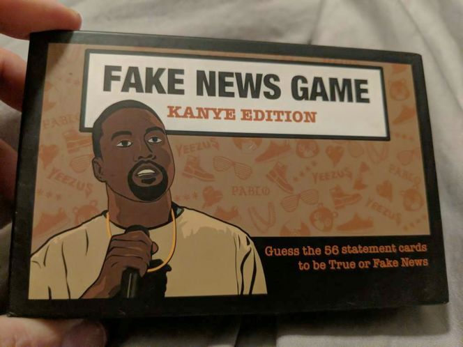 FAKE NEWS GAME Kanye Edition Bubblegum Stuff Ltd for sale in Saratoga Springs , UT