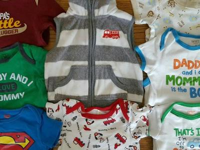 Baby size 0-3m 9 pieces