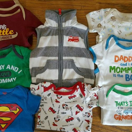 Baby size 0-3m 9 pieces for sale in North Salt Lake , UT