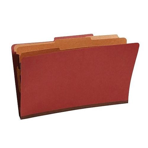 Staples 20ct 2/5 Top Tab 3-Partitions File Folders for sale in Orem , UT