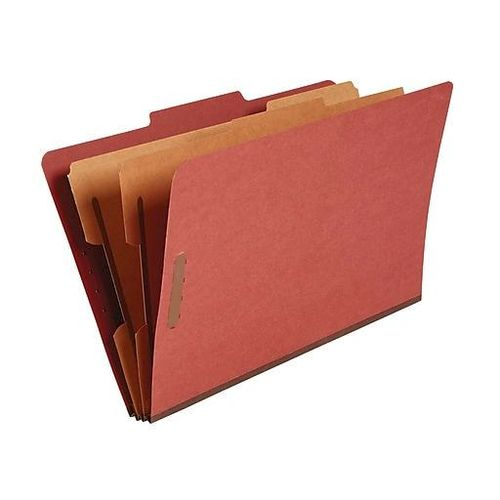 Staples Top Tab Pressboard Classification Folders for sale in Orem , UT