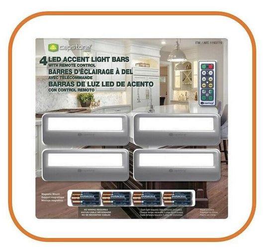 Capstone LED Accent Light Bars 4pk w/remote 1 for sale in Orem , UT