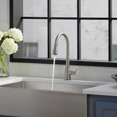 Kohler Simplice Pulldown Kitchen Faucet Chrome for sale in Orem , UT