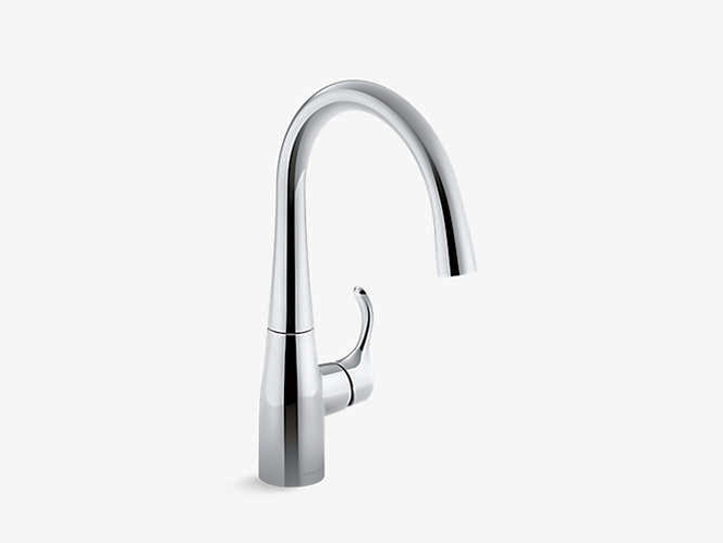 Kohler Simplice Bar Swing Sink Faucet Black 1363427 for sale in Orem , UT