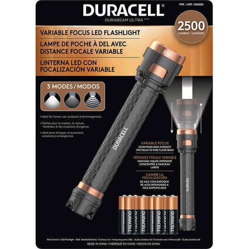 Duracell Durabeam Ultra LED 2500 Lumen Flashlight with Variable Focus 1600258 for sale in Orem , UT