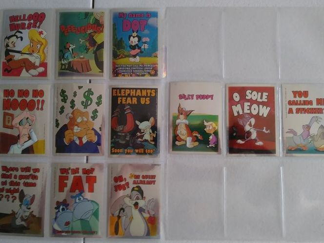 Animaniacs Complete Sticker Set for sale in Clearfield , UT