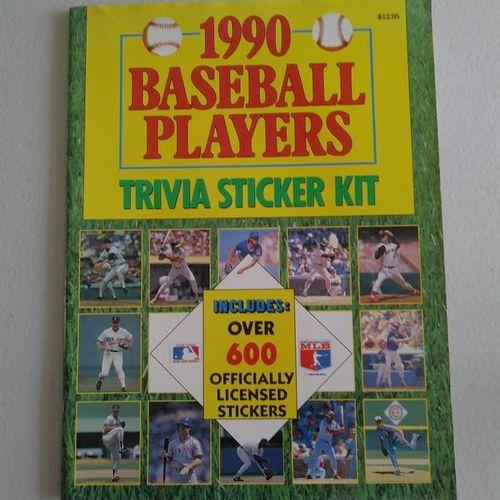 Baseball Trivia Sticker Kit for sale in West Point , UT