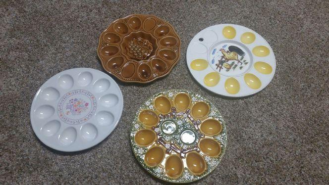 Deviled Egg Plates for sale in Garland , UT