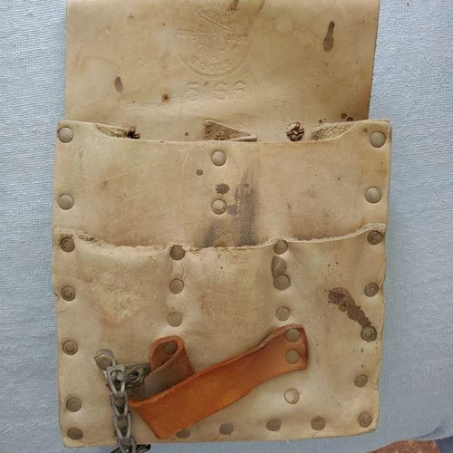 Vintage Electricians leather Tool Pouch for sale in Garland , UT