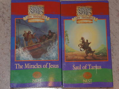 Animated Stories for the New Testament: Saul of Tarsus, The Miracle os Jesus