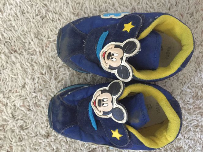 Boys Mickey Mouse shoes size 15.0 cm for sale in West Jordan , UT
