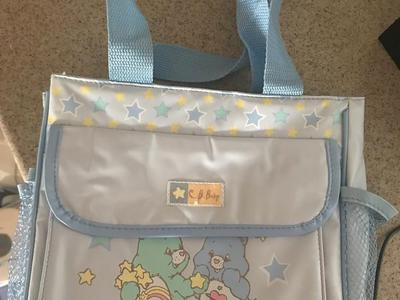 Brand new!!!  Care bear diaper bag