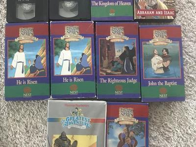 10 Animated Stiries VHS
