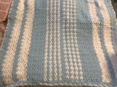 Handmade baby blanket new