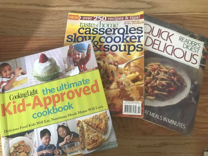 3 Cook books for sale in West Jordan , UT
