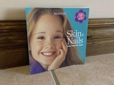 American Girl Skin and Nails Book Care Tips Girls