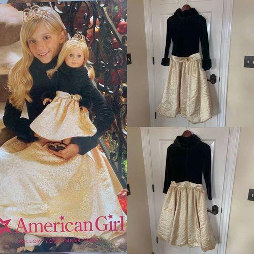 American Girl Midnight Holly Dress For Girls Sz 14 for sale in Herriman , UT
