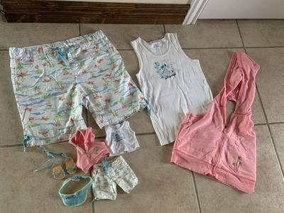 American Girl Tropical Waves Outfit for Girl & Dol