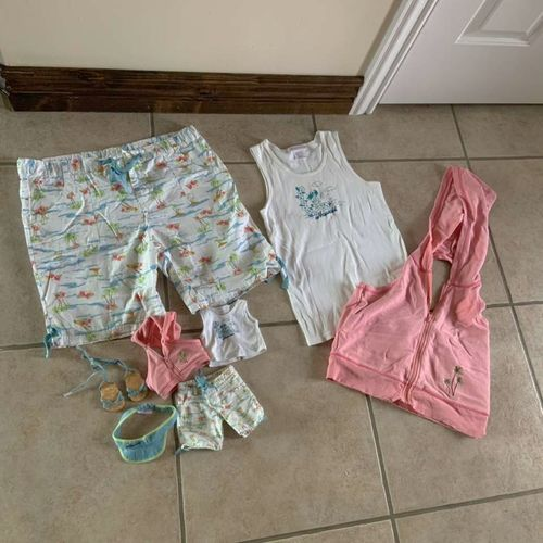 American Girl Tropical Waves Outfit for Girl & Dol for sale in Herriman , UT