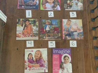 American Girl Catalogs And Magazines $5 Each