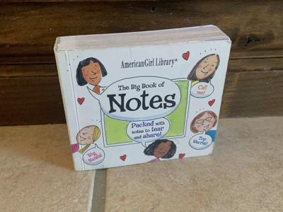 American Girl Big Book of Notes