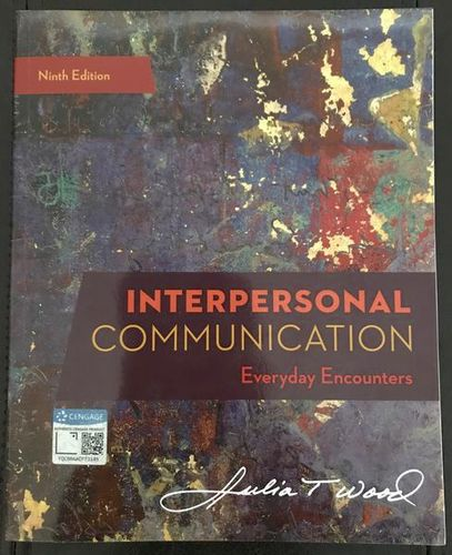 Interpersonal Communication Everyday Encounters for sale in Sandy , UT