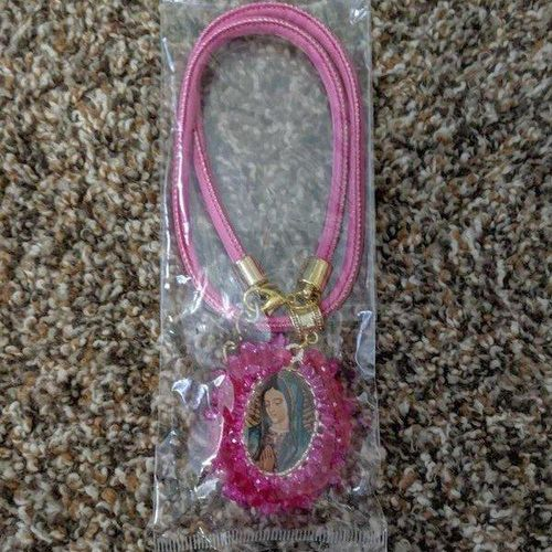 Virgin Mary Pink Necklace - NEW for sale in Sandy , UT