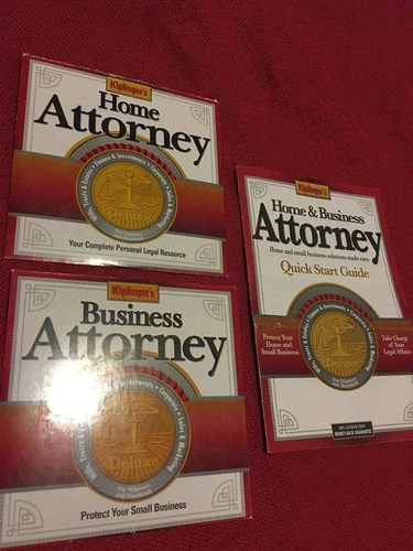 Kiplingers Business & Home Attorney Software for sale in Roy , UT