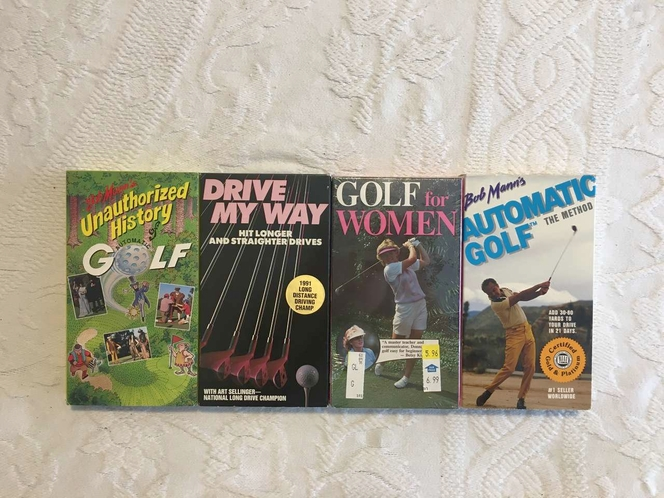 VHS Golf Tapes To Help Your Golf Proformance for sale in Roy , UT