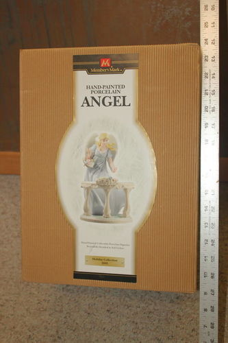 Hand-Painted Porcelain Angel Statue for sale in Roy , UT