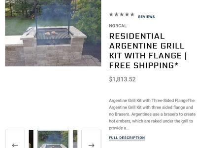 Argentine Grill Kit