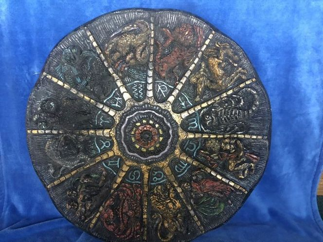 70's Mexican Zodiac Wall plaque. for sale in Salt Lake City , UT