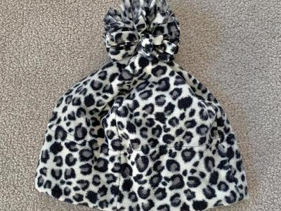 Super Soft Leopard Print Winter Beanie