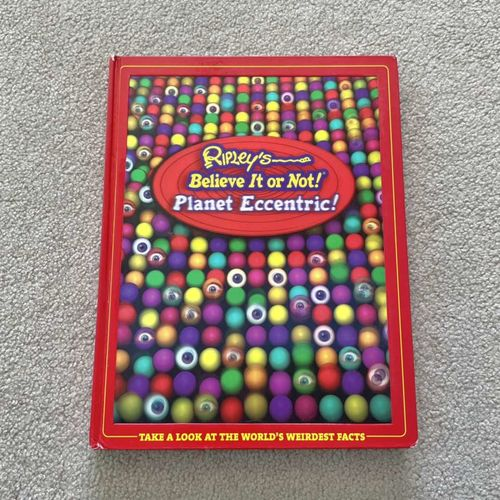 Ripley's Believe It Or Not! Planet Eccentric! Book for sale in South Jordan , UT