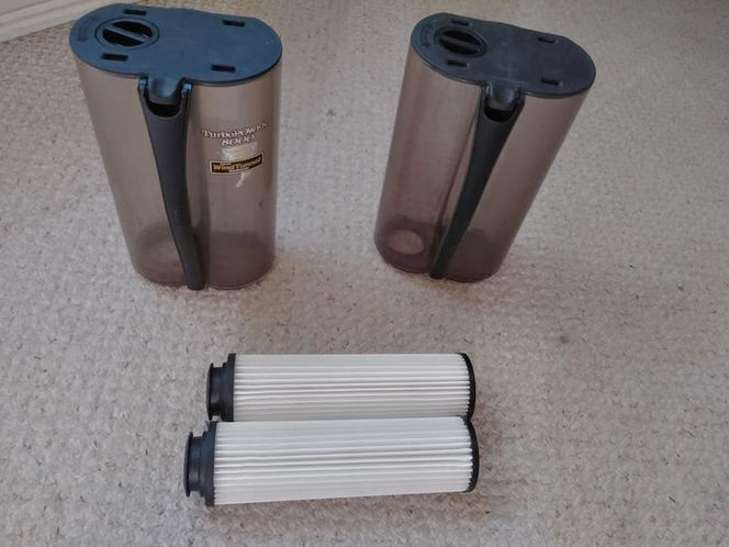 2 Hoover Windtunnel Dirt Cups and 2 filters. $25 OBO for sale in Salt Lake City , UT