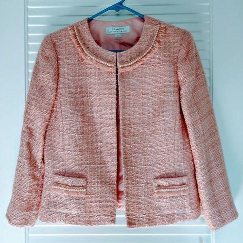 Tahari Pink Womens Jacket Size 6 NWT $149 for sale in Salt Lake City , UT