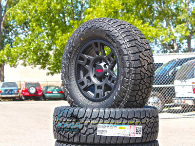 TRD PRO Wheel Package 265/70r17 Falken Wildpeak