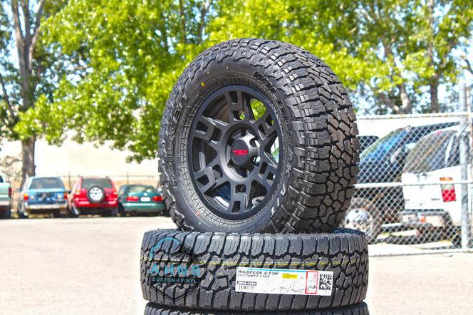 TRD PRO Wheel Package 265/70r17 Falken Wildpeak for sale in South Salt Lake , UT