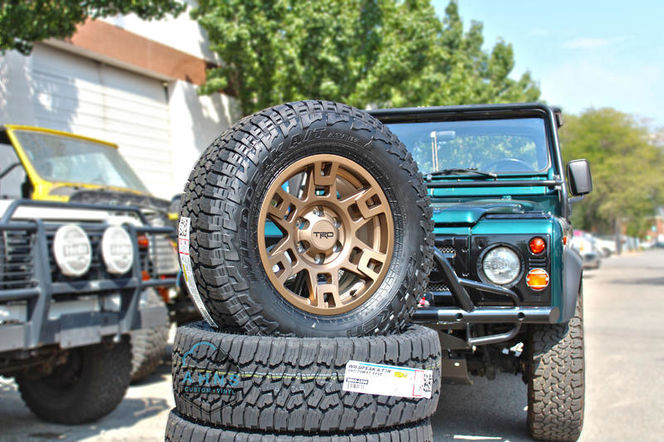 TRD bronze Wheel Package 265/70r17 Falken Wildpeak for sale in South Salt Lake , UT