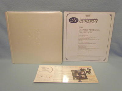 Creative Memories 12x12 Pearl Wedding Album+++