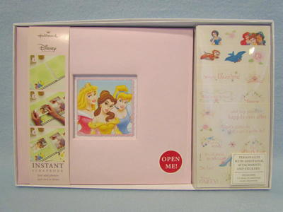 8x8 Hallmark Disney Princess Instant Scrapbook