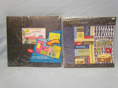 Travel Vacation 12x12 Scrapbook Album