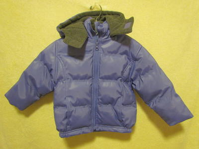 Toddler Girls Thick Hooded Winter Jacket Coat 2T