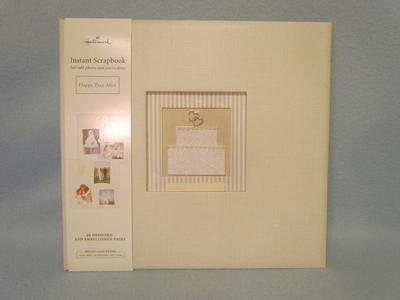 Hallmark 12x12 Wedding Instant Scrapbook Album