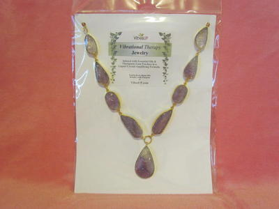 NEW-VibesUP Amethyst Queen of the Kingdom Necklace