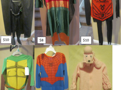 Variety of Boy's & Girl's Halloween Costumes