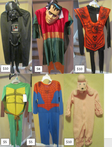 Variety of Boy's & Girl's Halloween Costumes for sale in Tooele , UT