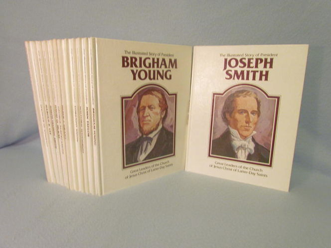 Illustrated Stories of the LDS Presidents/Prophets for sale in Tooele , UT