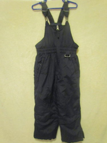 Athletic Works Black Snow Bibs Size 4-5T for sale in Tooele , UT