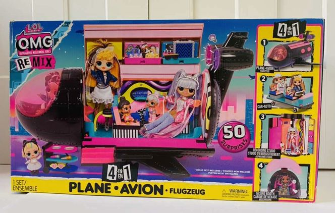 NEW IN BOX- L.O.L. Surprise Remix 4-in-1 Plane for sale in Herriman , UT